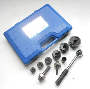 manual wrench hole punch tool