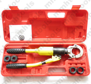 stainless pipe crimping tool head