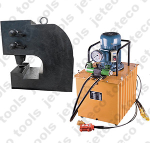 hydraulic hole punching press