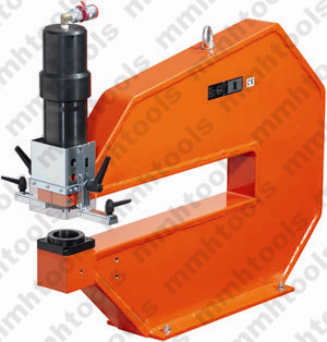 G shape hydraulic hole punching machine