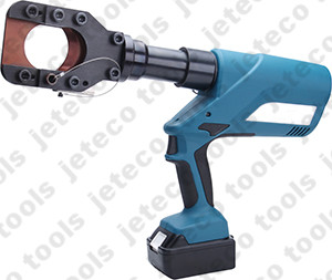 Battery hydraulic cable cutter