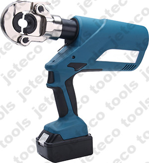 battery pipe crimping tool